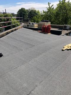 Completed Roof Area